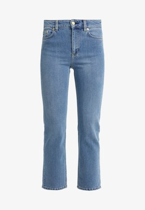 STELLA WASHED - Straight leg jeans - mid blue