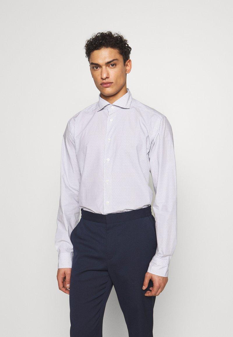 Eton - SLIM FIT - Kostymskjorta - white/blue