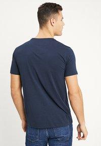 Petrol Industries - LOGO BASIC - T-shirts print - deep navy - 2