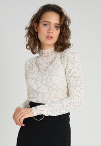Rosemunde - Long sleeved top - ivory - 0