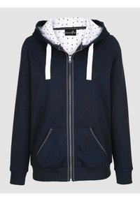 Dress In - Zip-up sweatshirt - marineblau - 5