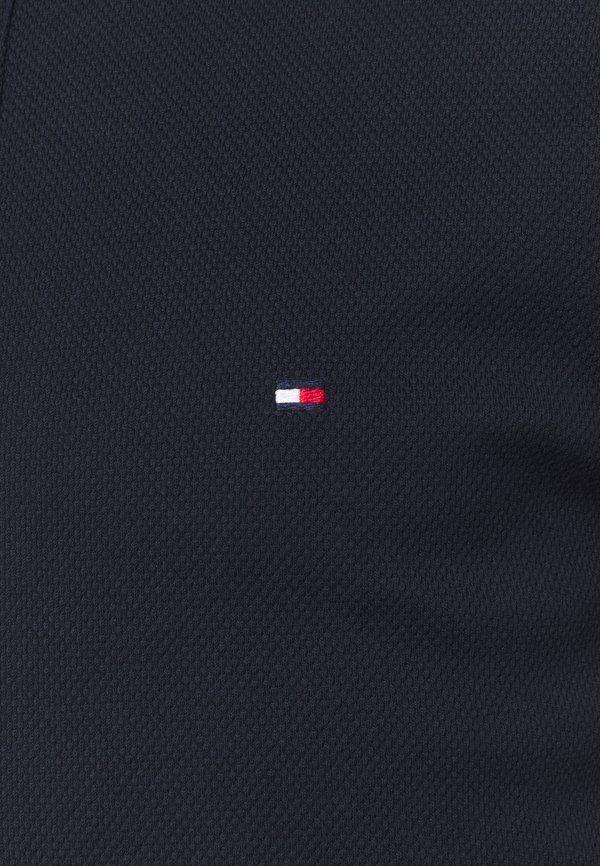 Tommy Hilfiger Tailored SOPHISTICATED STRUCT SLIM - Koszulka polo - desert sky/granatowy Odzież Męska KXZQ