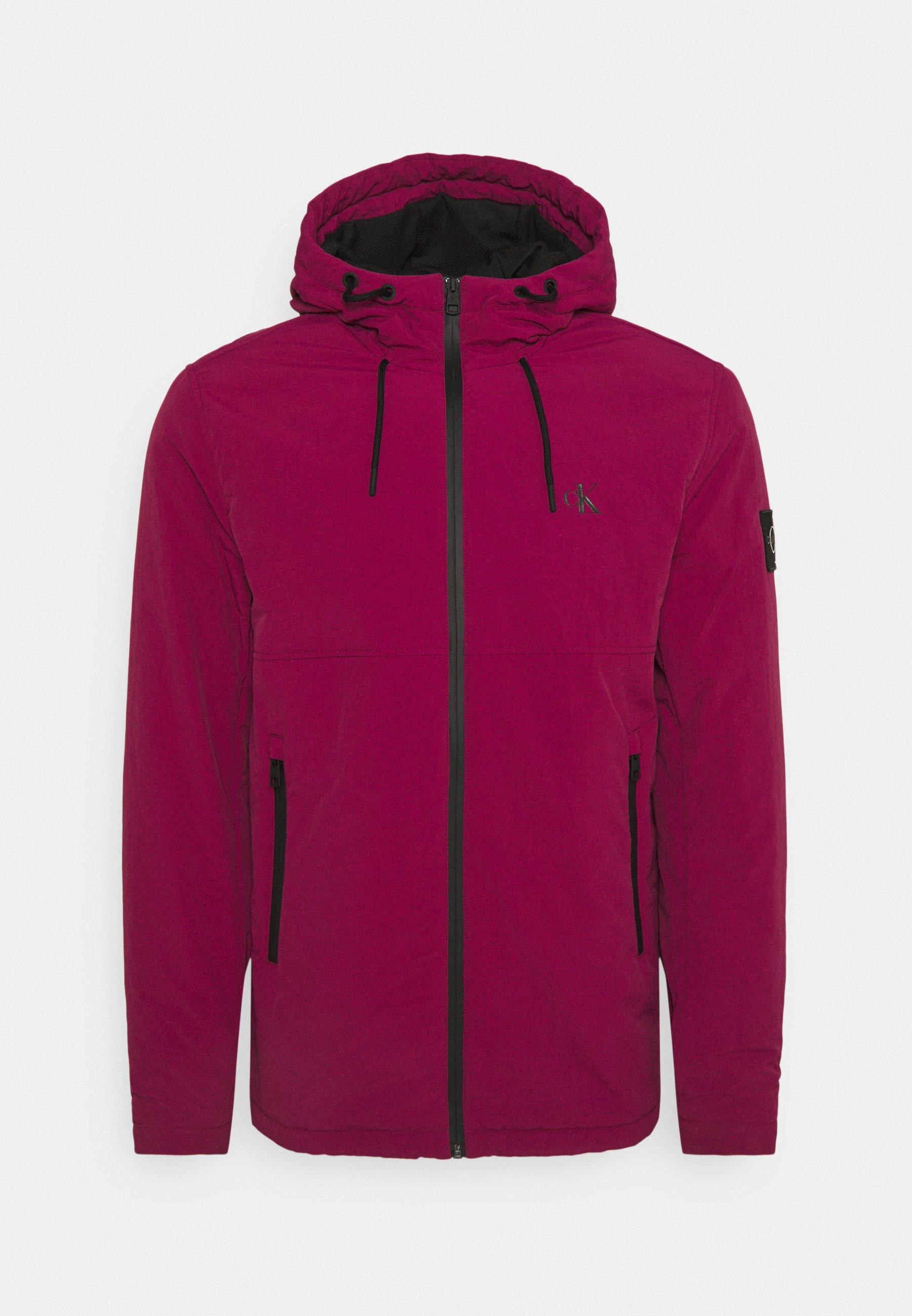 Men HOODED NEW HARRINGTON JACKET - Light jacket