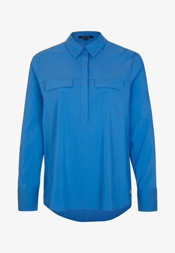 MIT KNOPFLEISTE - Blouse - sapphire blue