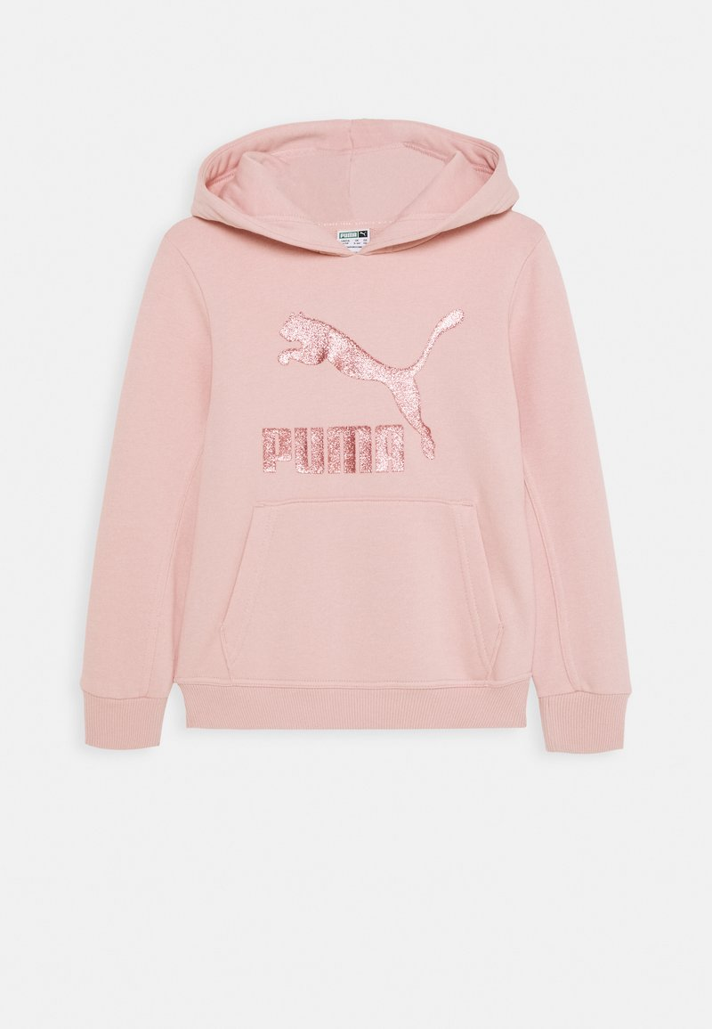 Puma - CLASSICS LOGO HOODY - Felpa - light pink