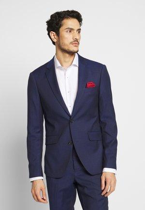 BROKEN PIN SUIT - Oblek - dark blue stripe