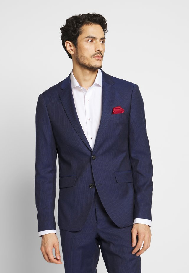 BROKEN PIN SUIT - Suit - dark blue stripe