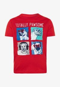 GAP - TODDLER BOY - Print T-shirt - pure red - 0