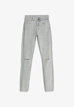 MIT RISSEN  - Skinny-Farkut - grey