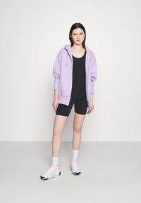 Nike Sportswear - ONE PIECE - Tuta jumpsuit - black/dark smoke grey - 1