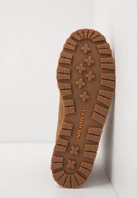 Merrell - WILDERNESS WATERPROOF - Trekking boots/ Trekking støvler - oak - 4