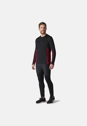 LIGHTWEIGHT SPORT 150 CREW - Maglietta a manica lunga - tbtn red h black