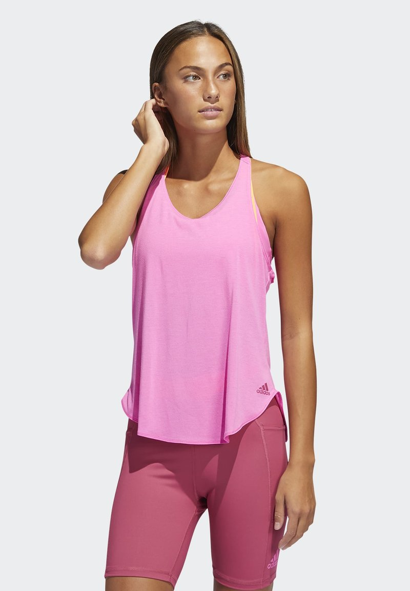 adidas Performance - GO TO TANK 2.0 - Top - pink