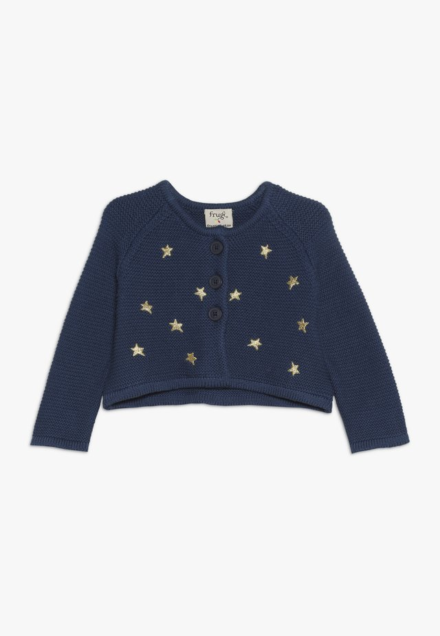 EMILIA EMBROIDERED BABY - Kardigan - space blue