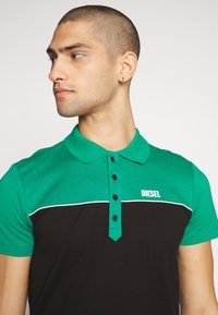 Diesel - RALFY - Poloshirt - green/black - 4