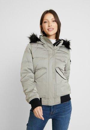 PUFFER - Down jacket - light grey