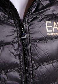EA7 Emporio Armani - JACKET VEST - Waistcoat - black - 4