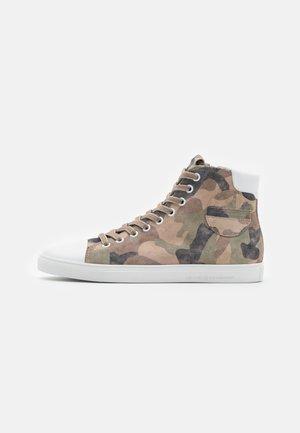 BASE - Zapatillas altas - desert/bianco