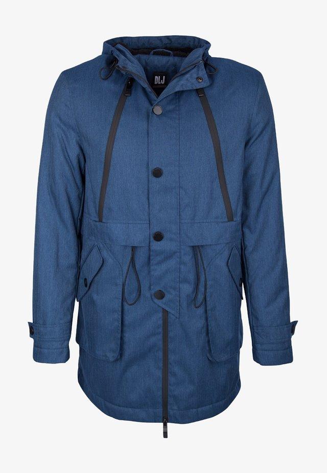 Winterjas - blau