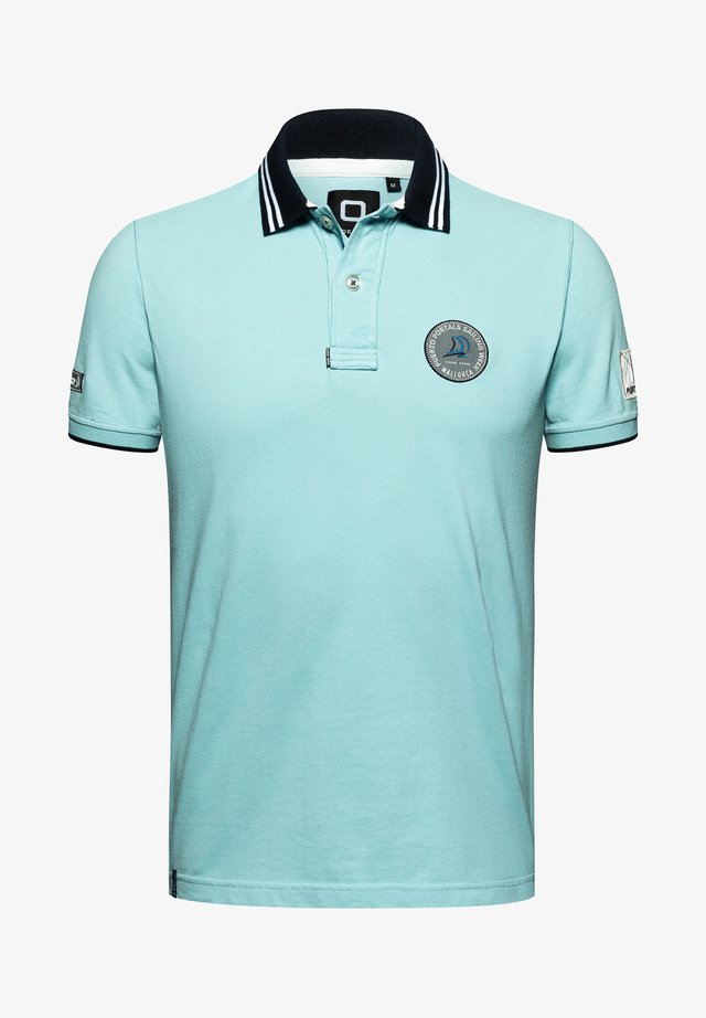PORTALS SAILING WEEK  - Polo shirt - blue glow