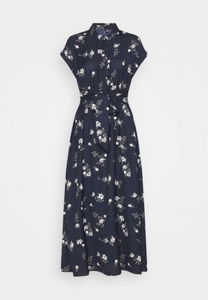 VMFALLIE LONG TIE DRESS - Skjortekjole - navy blazer/newhallie