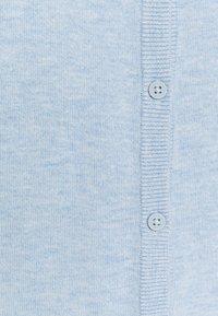 edc by Esprit - CORE ROUND NECK CARDIGAN - Kardigan - light blue lavender - 2