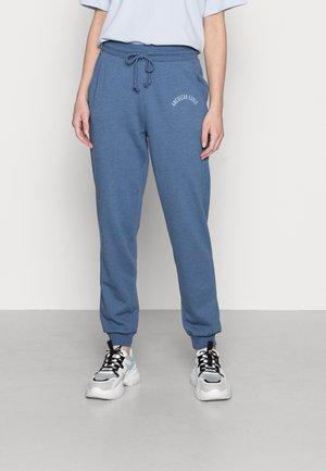 BRANDED SLIM JOGGER - Pantaloni sportivi - blue