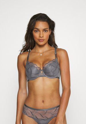 AUTO PAD - Underwired bra - grey mix