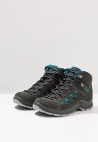 Lowa - LEVANTE GTX MID - Hiking shoes - anthrazit/türkis - 2