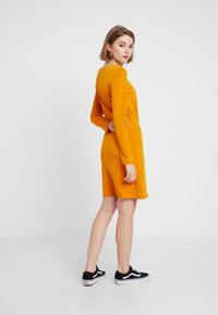 Vila - Day dress - golden oak - 3