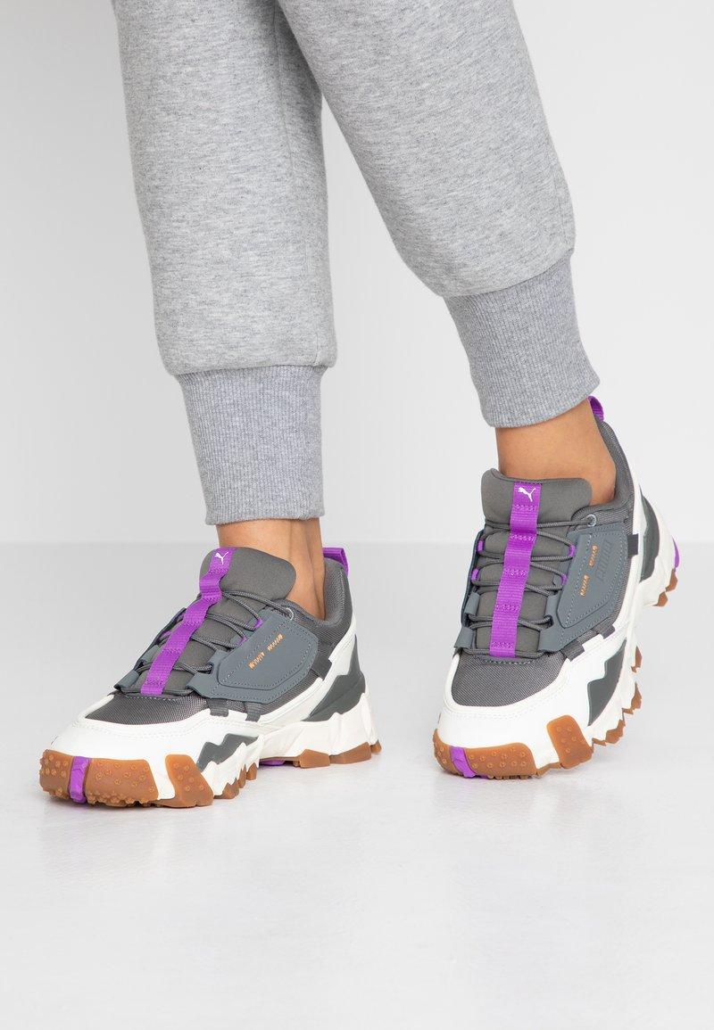 Puma - TRAILFOX MTS-WATER - Sneakers - castlerock/whisper white