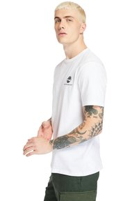 Timberland - ARCHIVE BACK WWES - Basic T-shirt - white - 3