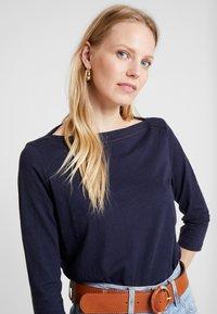 s.Oliver - 3/4 ARM - Langærmede T-shirts - navy - 3