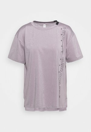 SPORT GRAPHIC - Camiseta estampada - slate purple