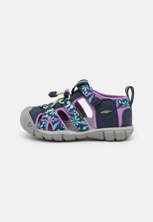 SEACAMP II CNX UNISEX - Walking sandals - black iris/african violet