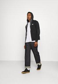 Nike Sportswear - Zip-up sweatshirt - black/ice silver/white - 1