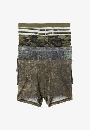 4 PACK - Panties - verde kaki st.sfumato