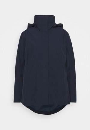 TROVAT HOODED JACKET WOMEN - Outdoorjas - marine