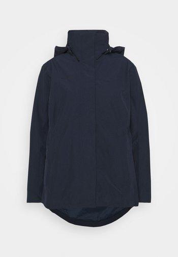TROVAT HOODED JACKET WOMEN - Hardshell jacket - marine
