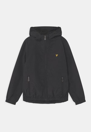 PANEL WINDCHEATER - Light jacket - black
