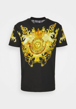 GOLD BAROQUE - T-shirt z nadrukiem - black