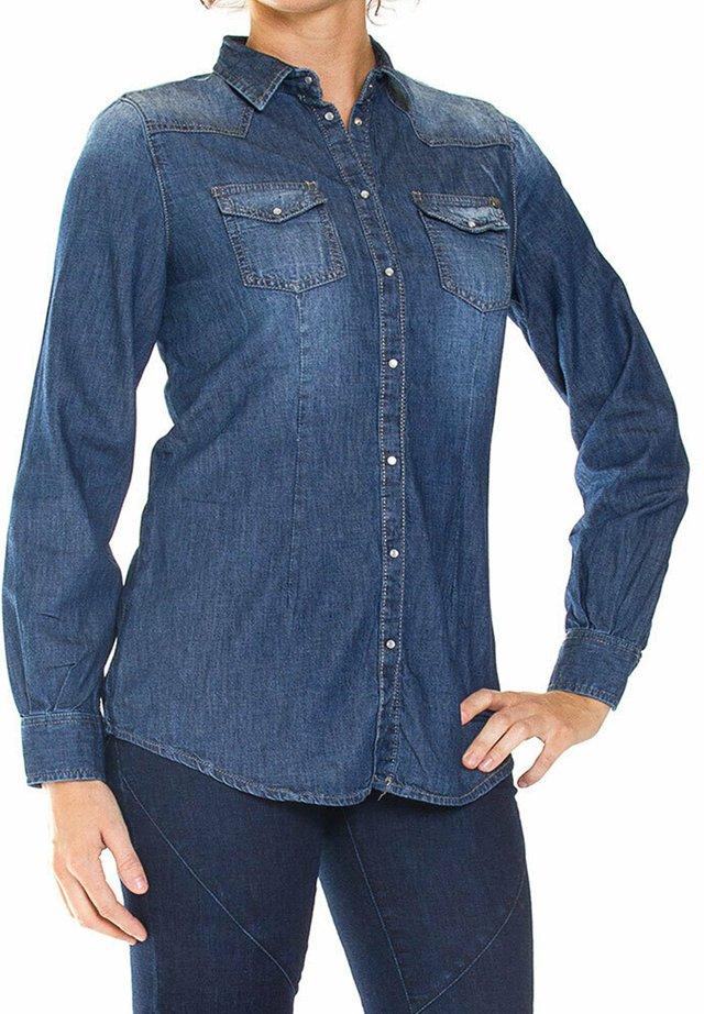 Camicia - lavaggio blu medio