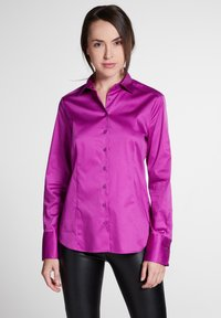 Eterna - MODERN CLASSIC - Button-down blouse - fuchsia - 0
