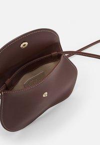 Little Liffner - PEBBLE MICRO BAG - Handbag - chestnut - 2