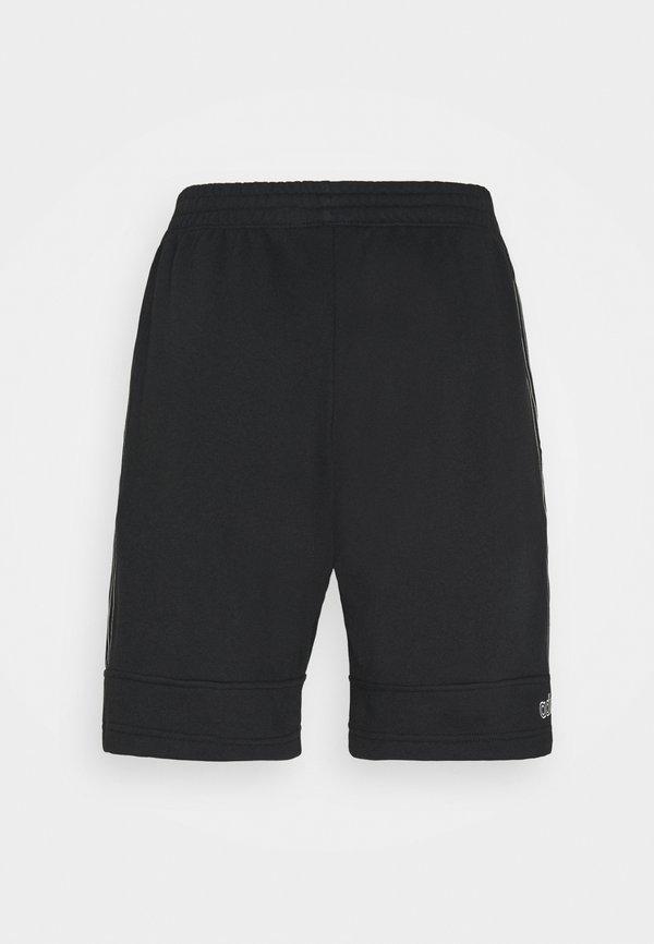adidas Originals Szorty - black/chalk white/czarny Odzież Męska OJED