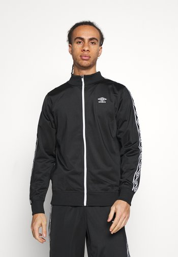 ACTIVE STYLE TAPED TRACKSUIT - Chándal - black/white