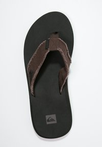 Quiksilver - MONKEY ABYSS - T-bar sandals - demitasse - 1