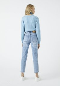 PULL&BEAR - Relaxed fit jeans - dark blue - 2