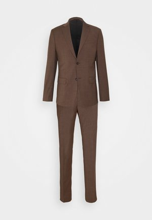 TROPICAL STRETCH SUIT - Suit - brown