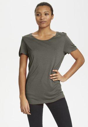 ANNA - Basic T-shirt - grape leaf